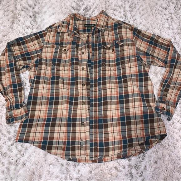 Eddie Bauer Oversized Flannel